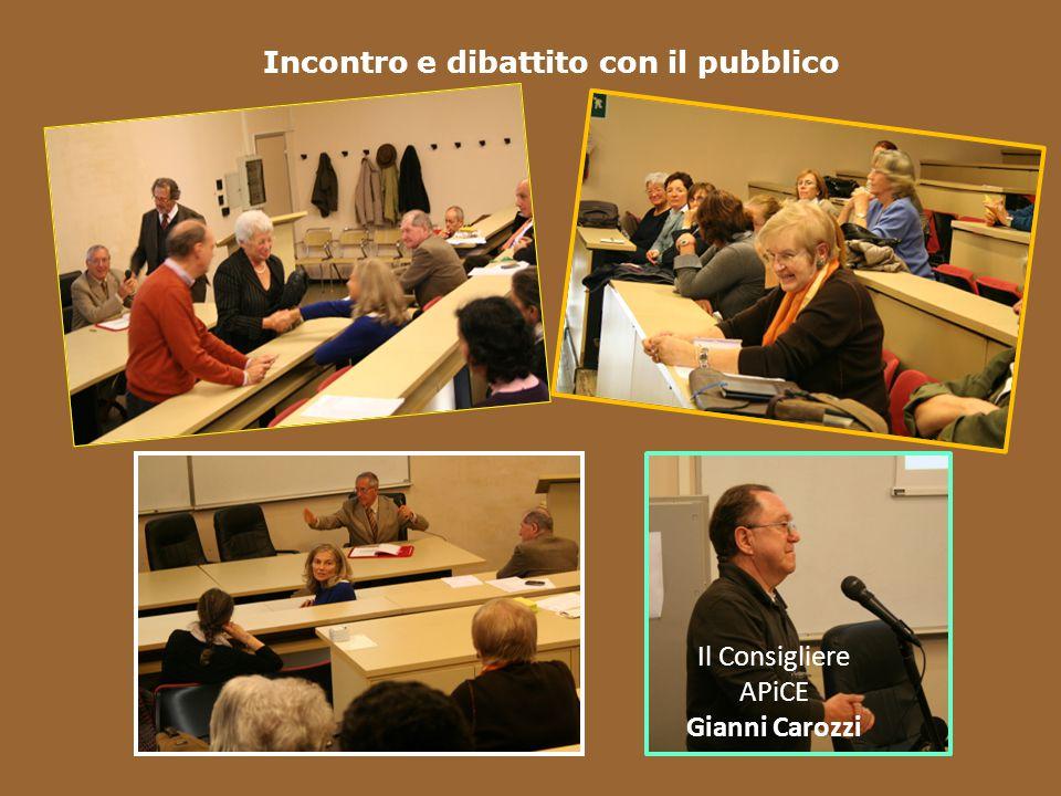 Incontro e dibattito con il pubblico
