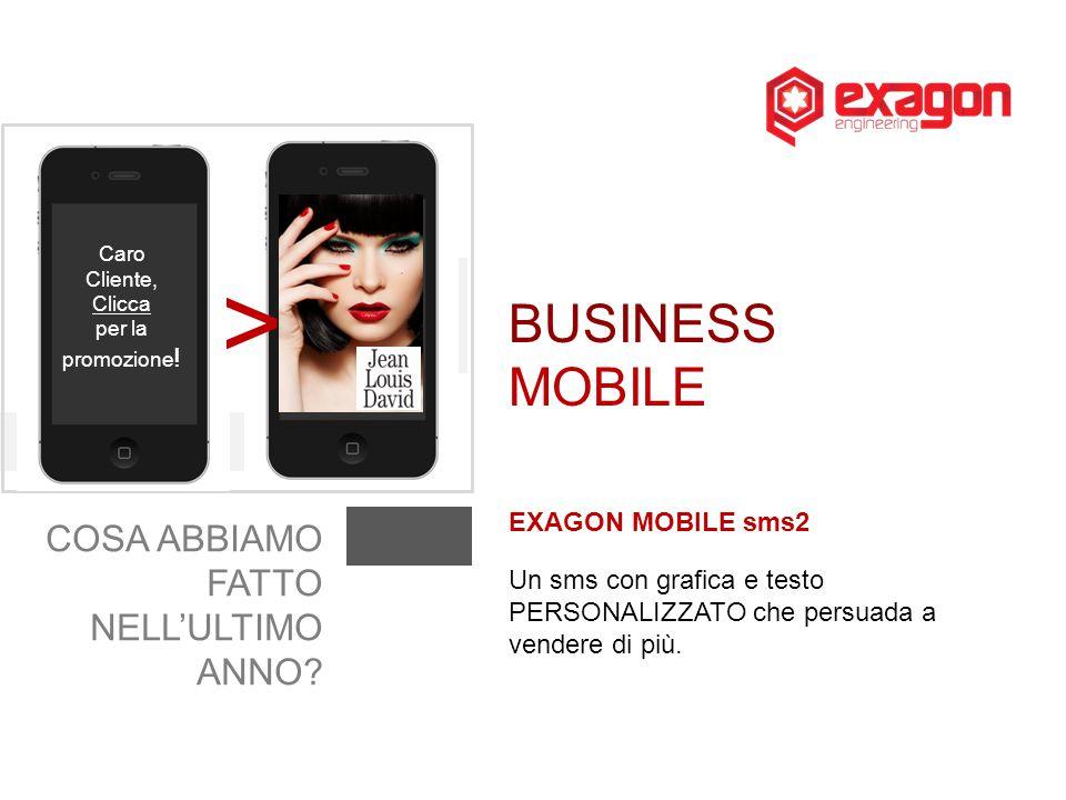 > BUSINESS MOBILE COSA ABBIAMO FATTO NELL'ULTIMO ANNO