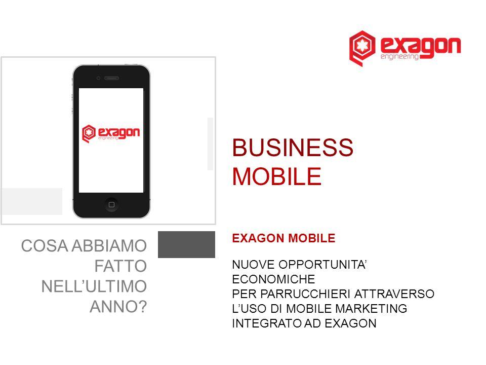BUSINESS MOBILE COSA ABBIAMO FATTO NELL'ULTIMO ANNO EXAGON MOBILE
