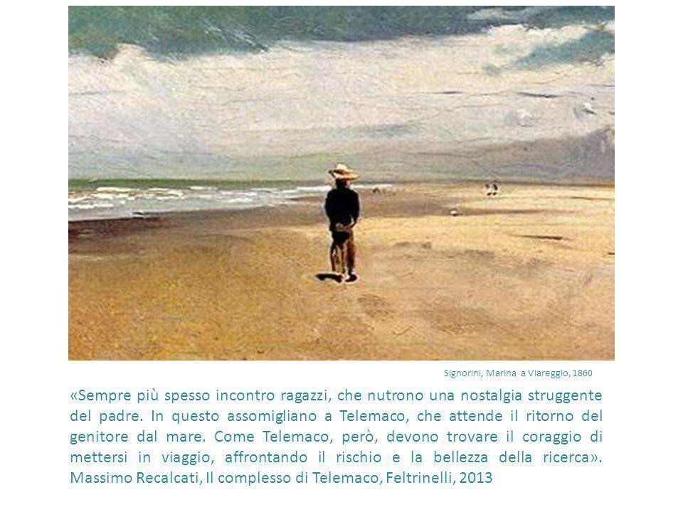 Signorini, Marina a Viareggio, 1860
