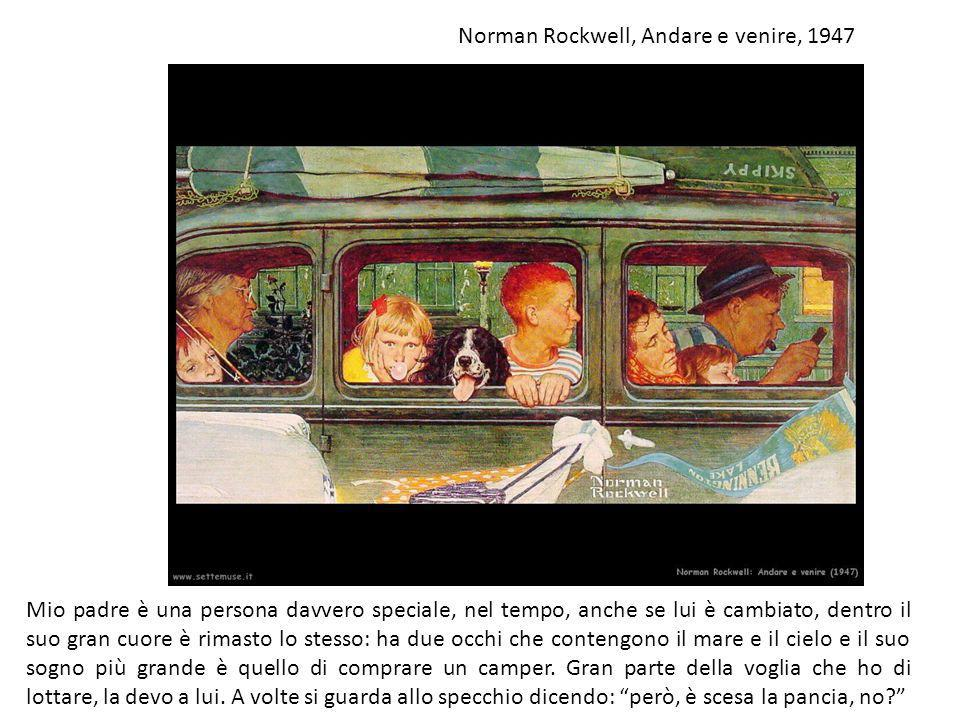 Norman Rockwell, Andare e venire, 1947