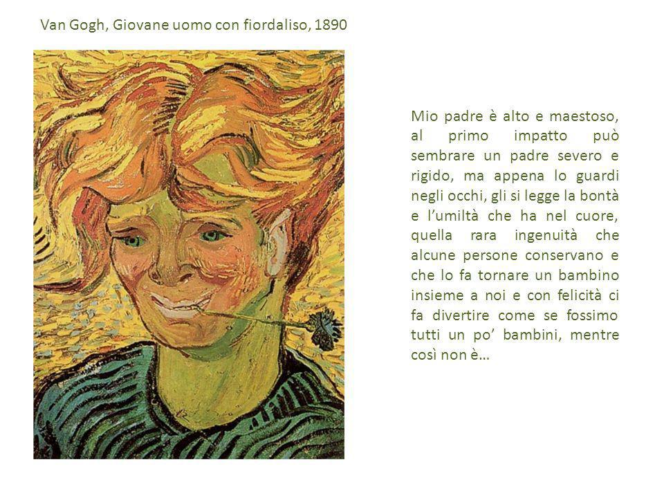 Van Gogh, Giovane uomo con fiordaliso, 1890