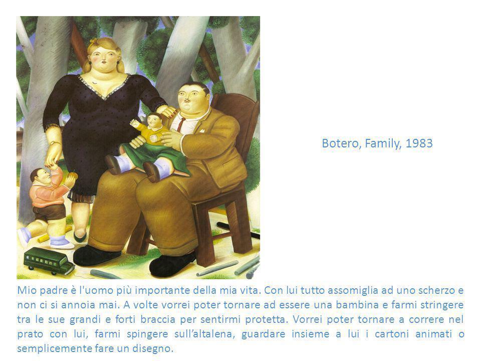 Botero, Family, 1983