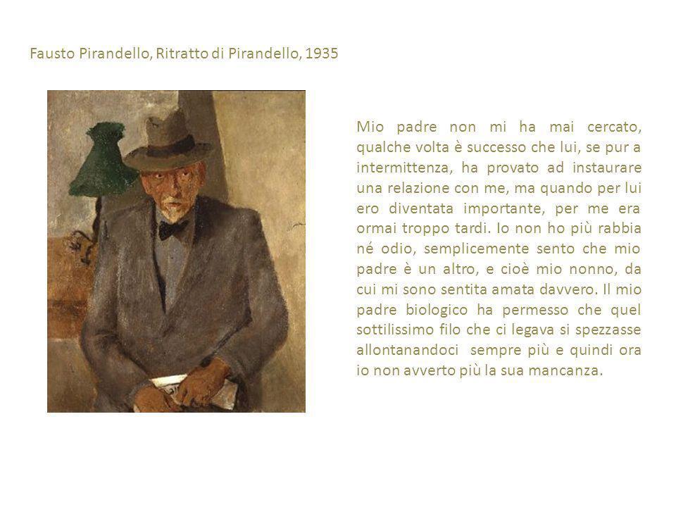 Fausto Pirandello, Ritratto di Pirandello, 1935