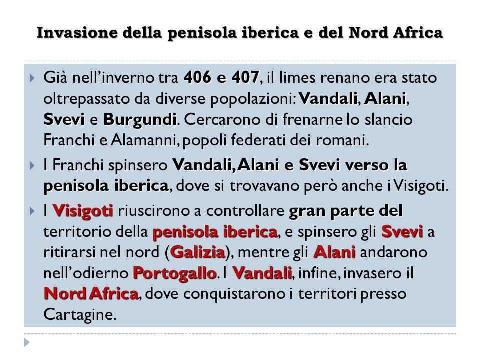 Invasione della penisola iberica e del Nord Africa