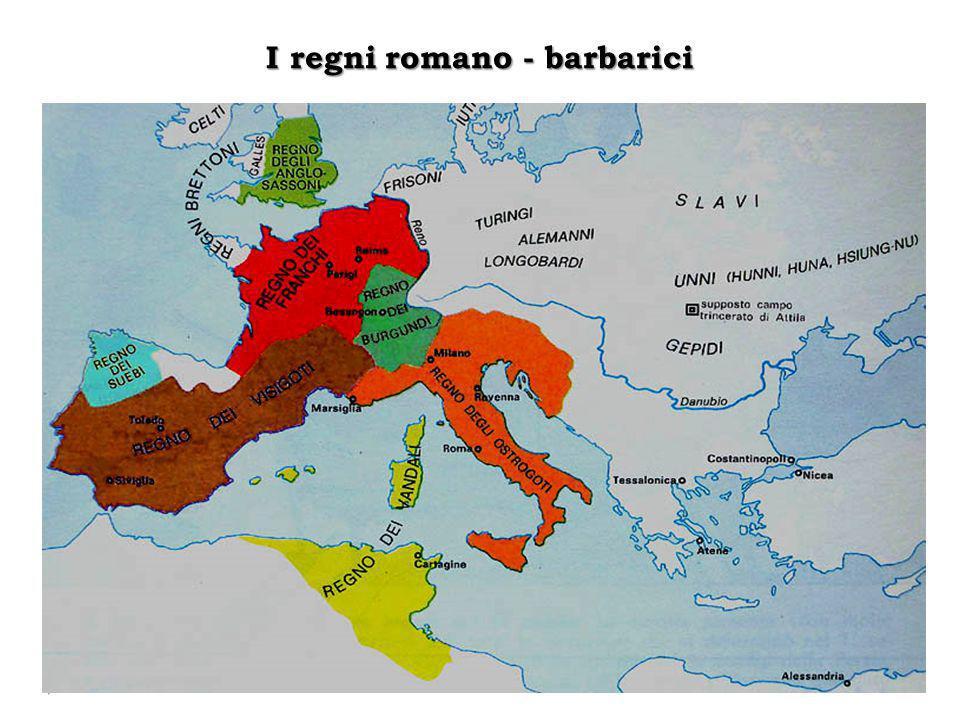 I regni romano - barbarici