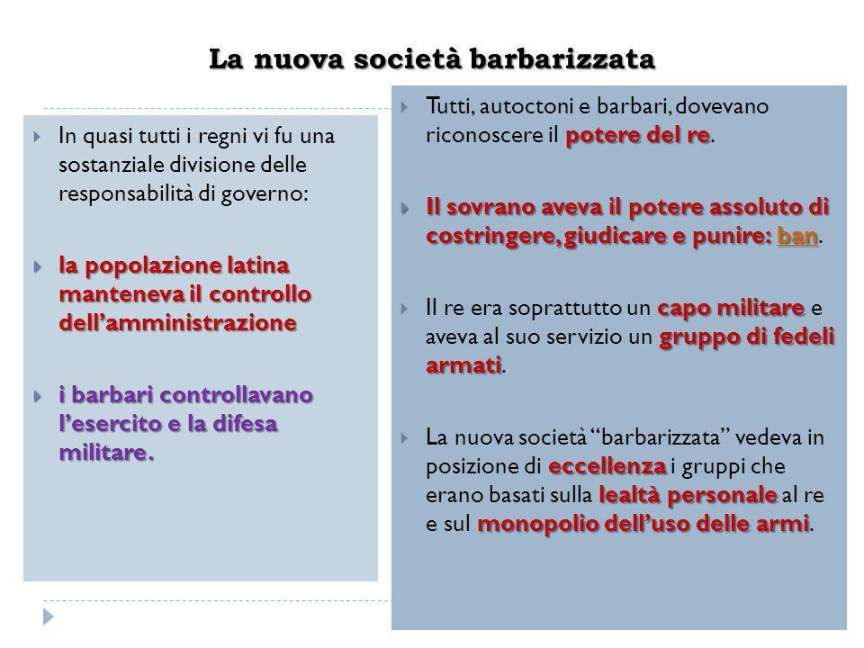 La nuova società barbarizzata