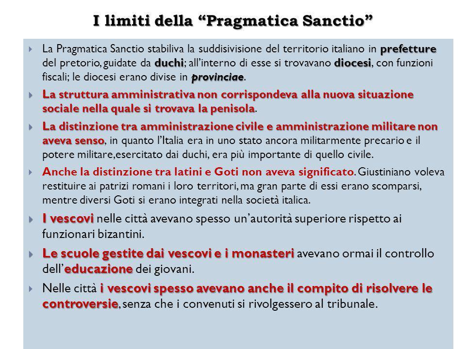 I limiti della Pragmatica Sanctio