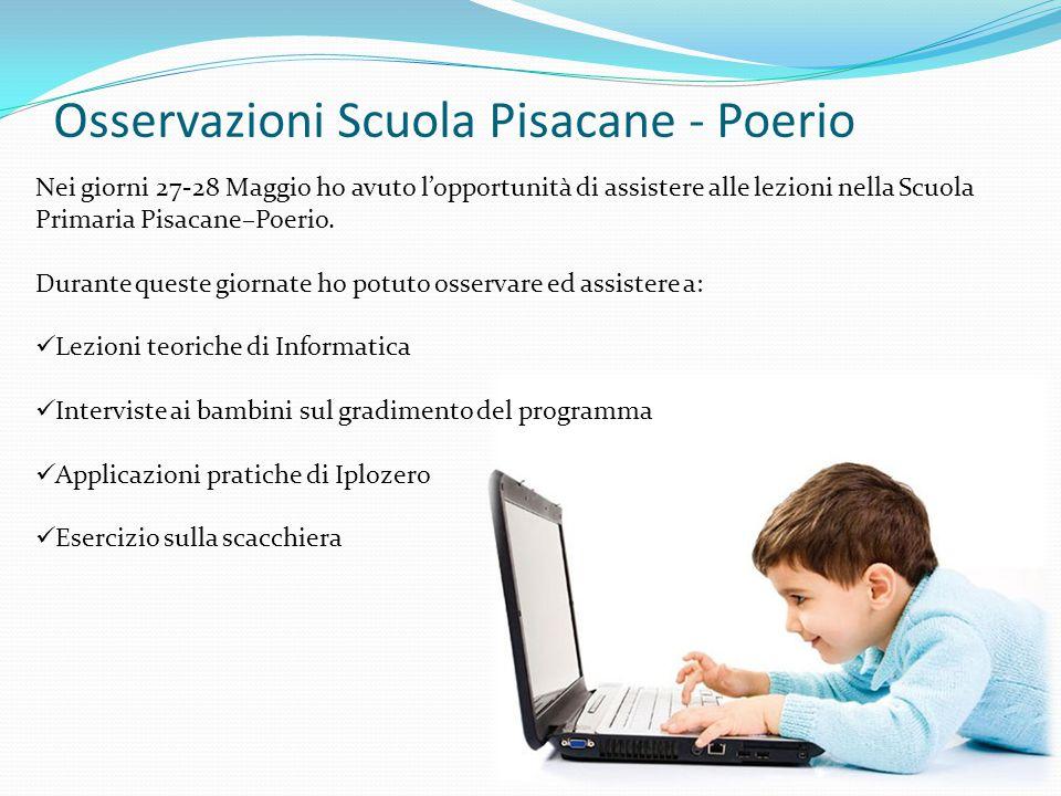 Osservazioni Scuola Pisacane - Poerio