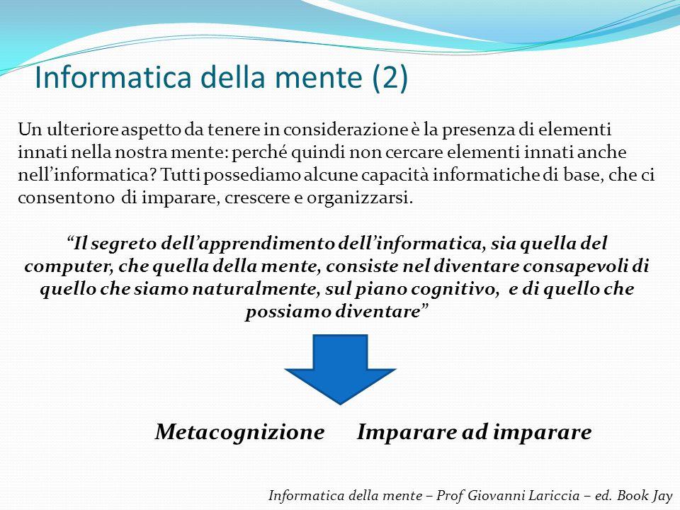 Informatica della mente (2)