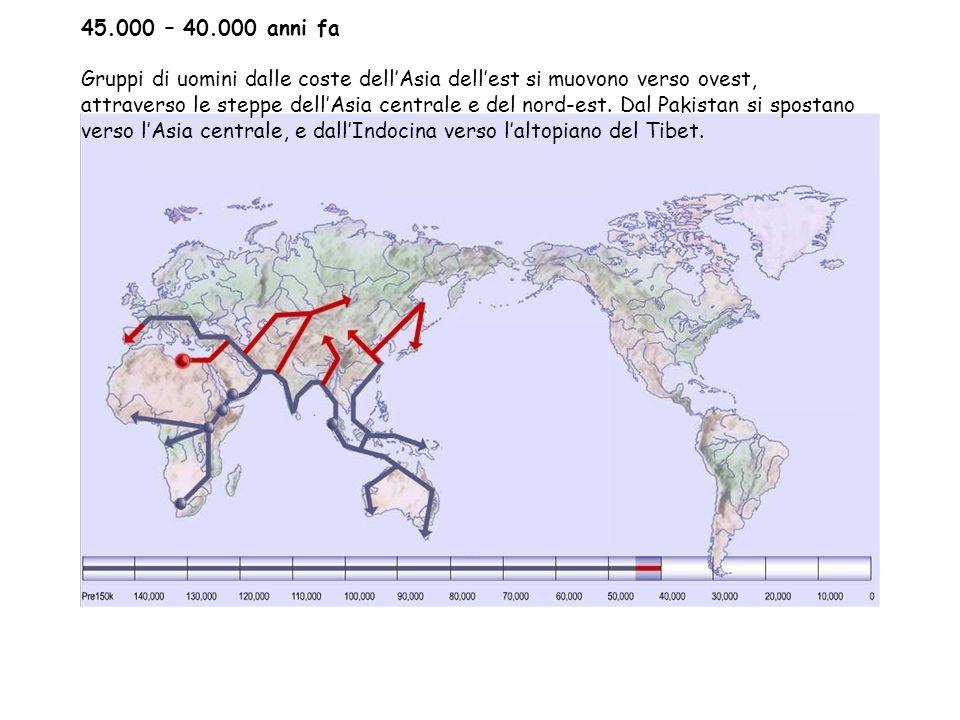 45.000 – 40.000 anni fa
