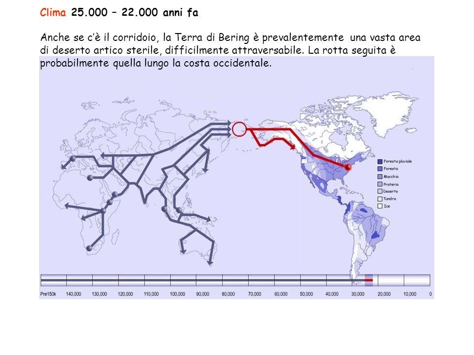 Clima 25.000 – 22.000 anni fa