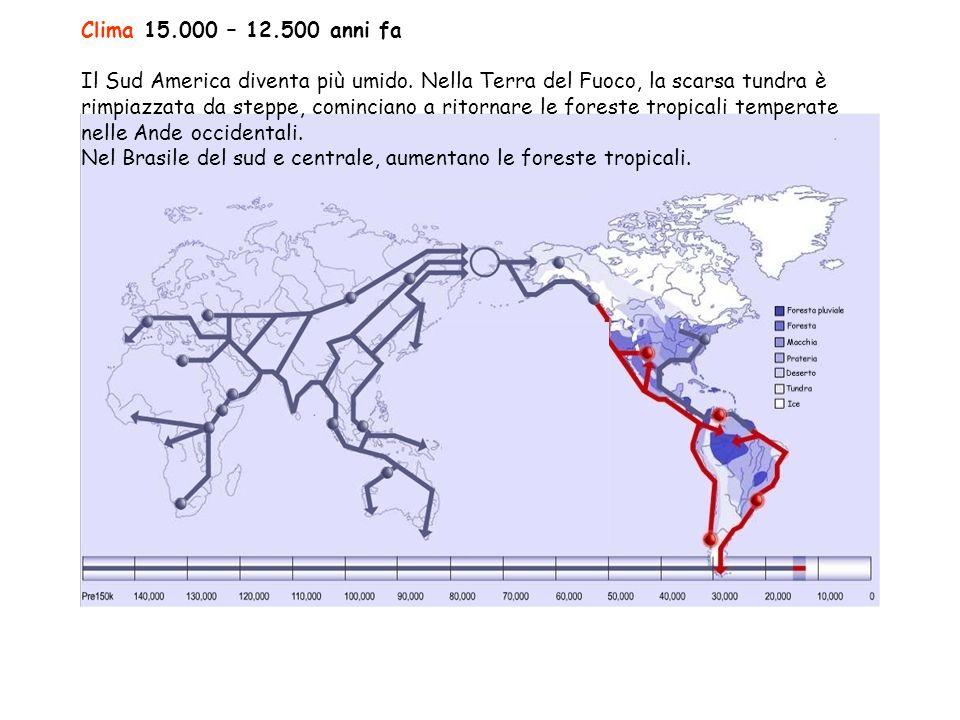 Clima 15.000 – 12.500 anni fa