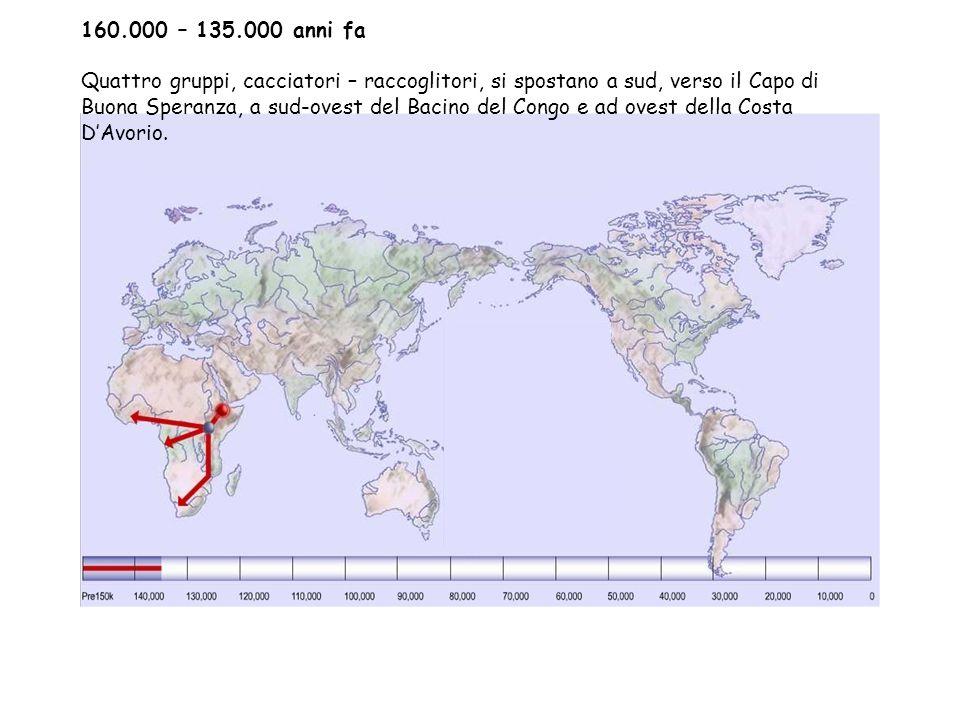 160.000 – 135.000 anni fa