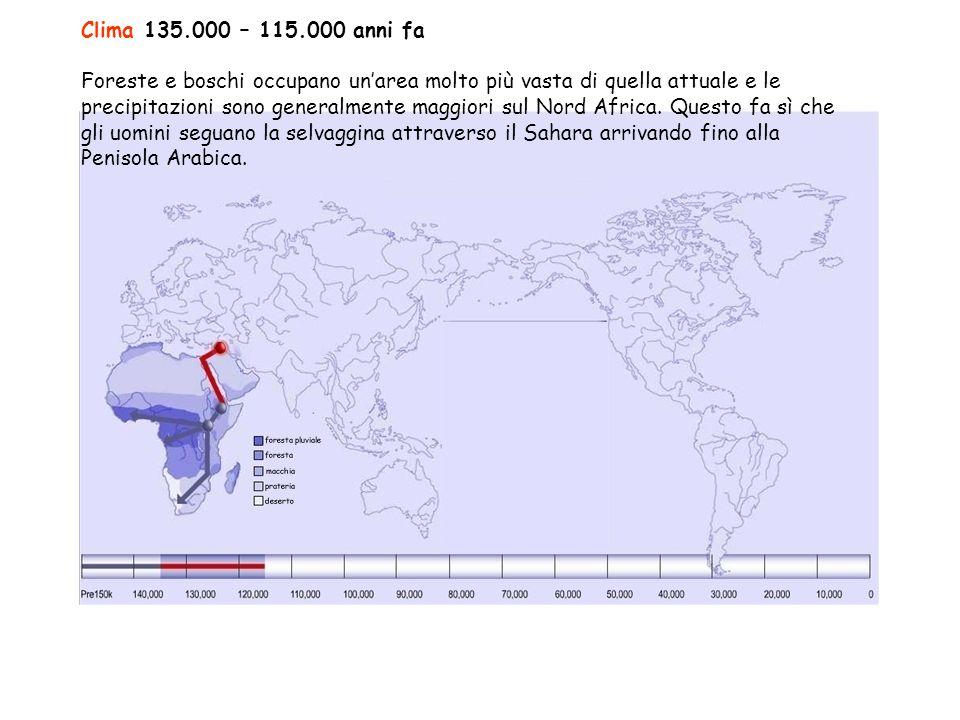 Clima 135.000 – 115.000 anni fa
