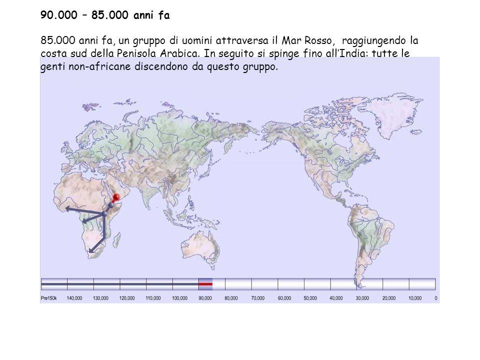 90.000 – 85.000 anni fa