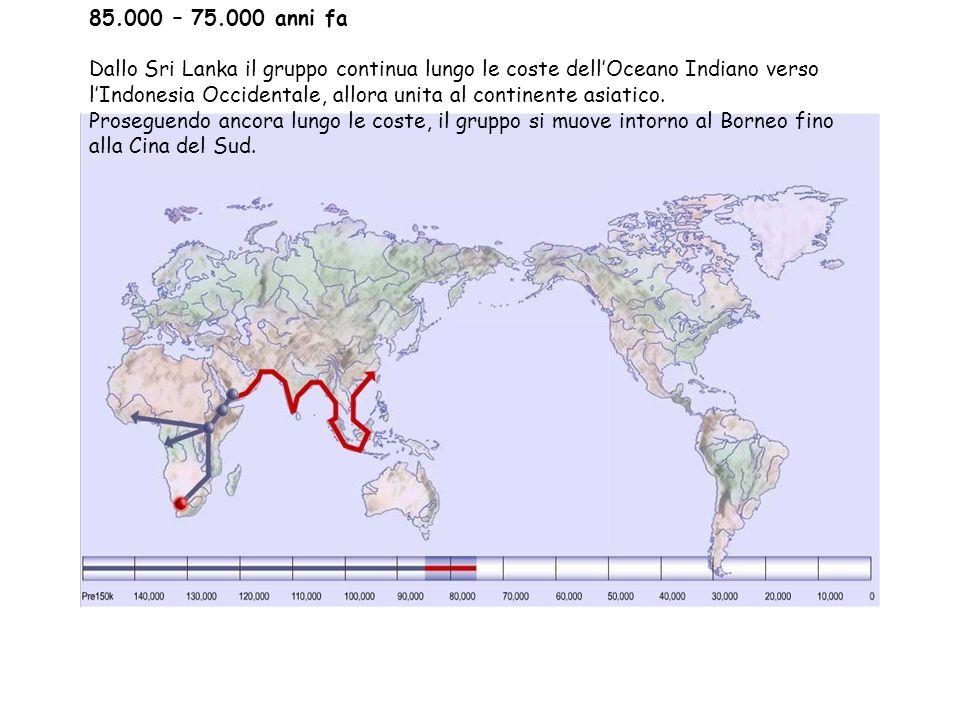 85.000 – 75.000 anni fa