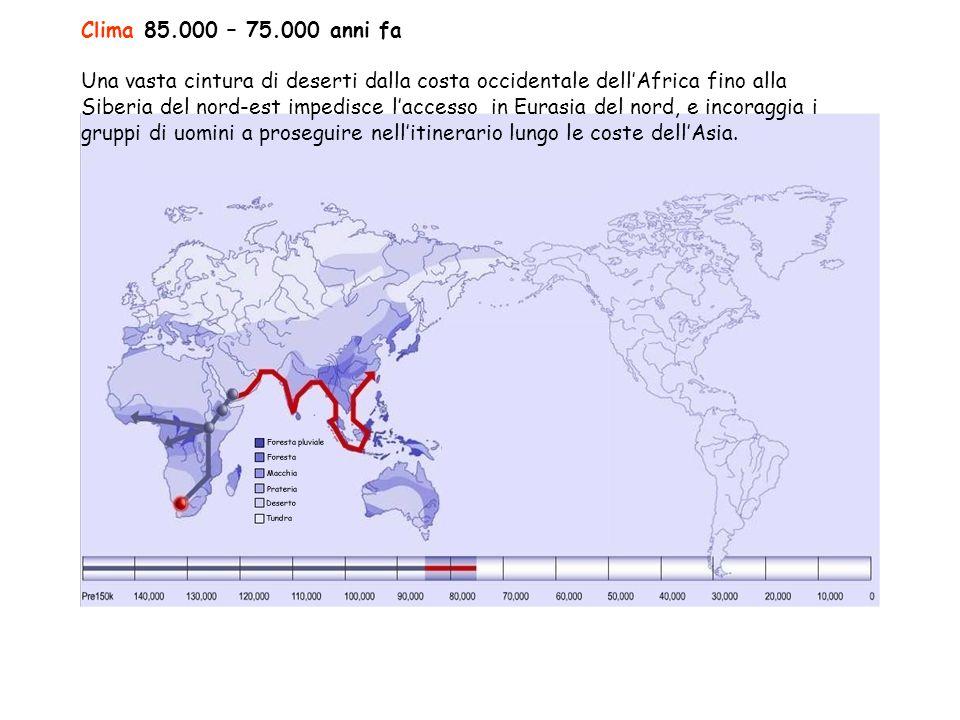 Clima 85.000 – 75.000 anni fa