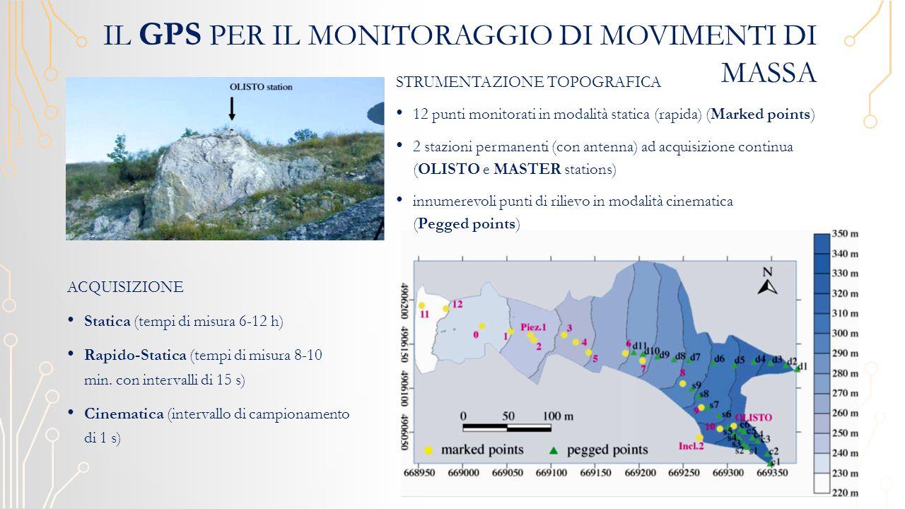 Il GPS per il monitoraggio di movimenti di massa