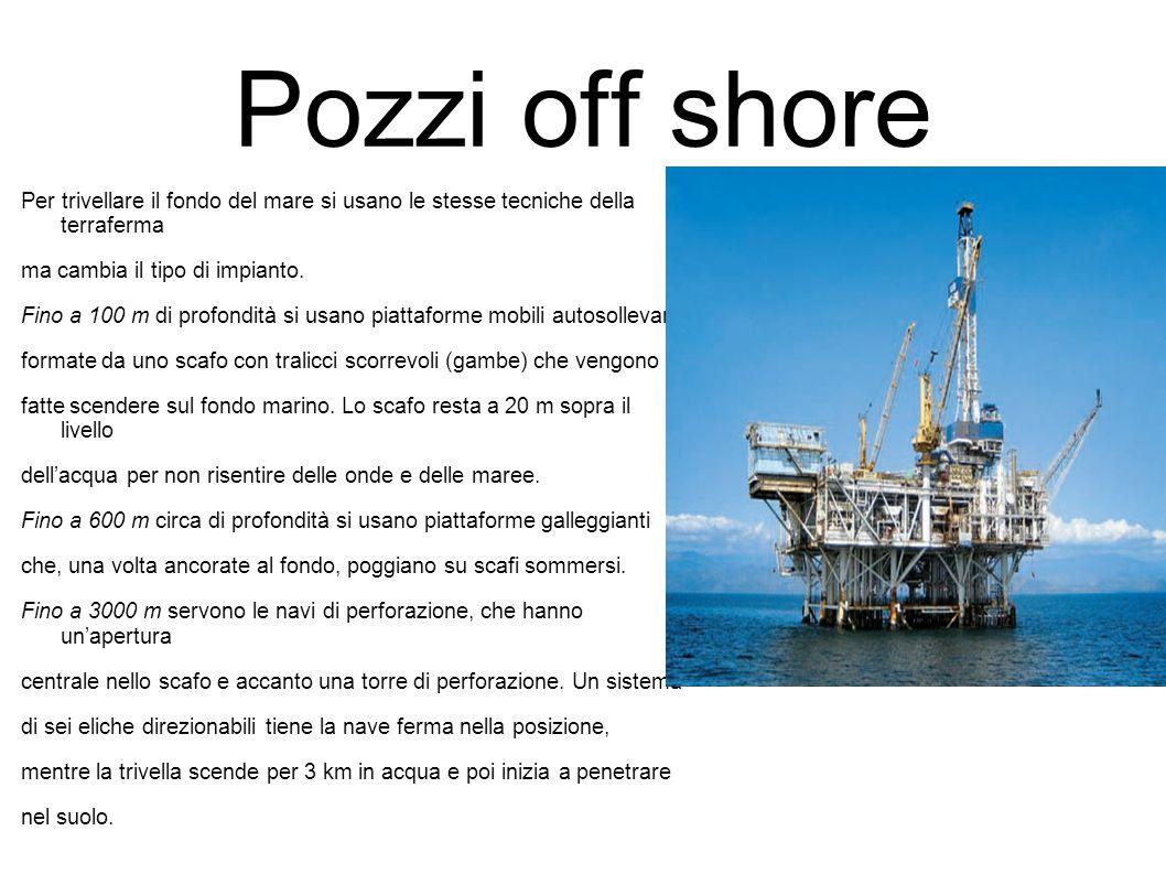 Il petrolio una miscela naturale di idrocarburi soprattutto carbonio e idrogeno estratta dai - Sopra un mare di specchi si vola ...