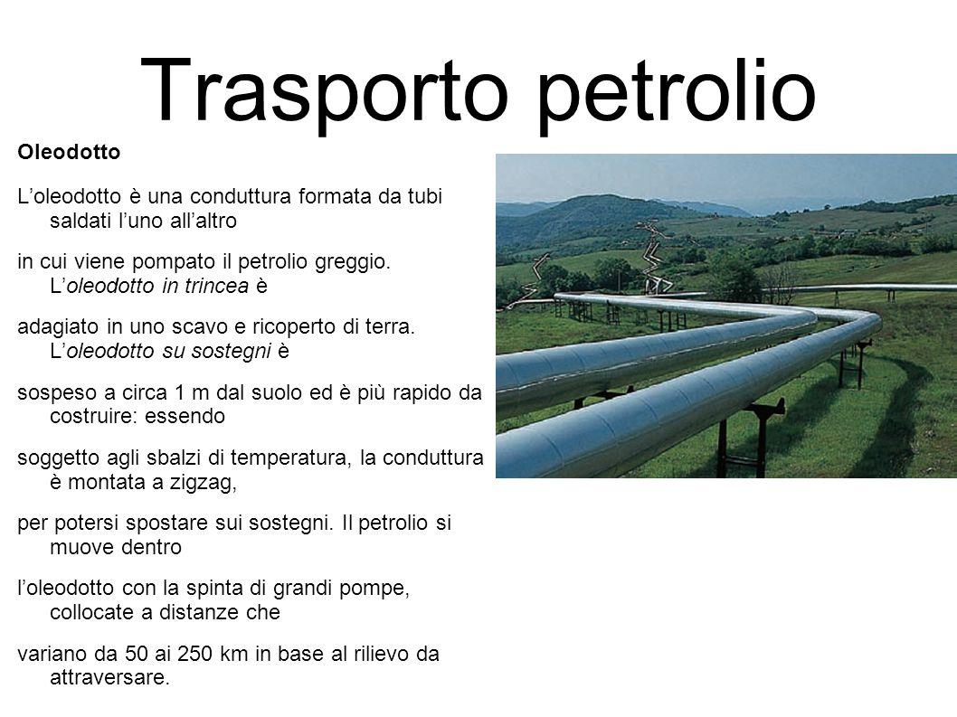 Trasporto petrolio Oleodotto