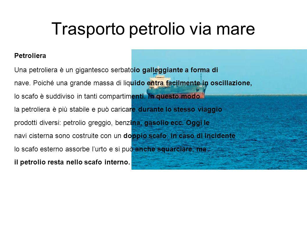 Trasporto petrolio via mare