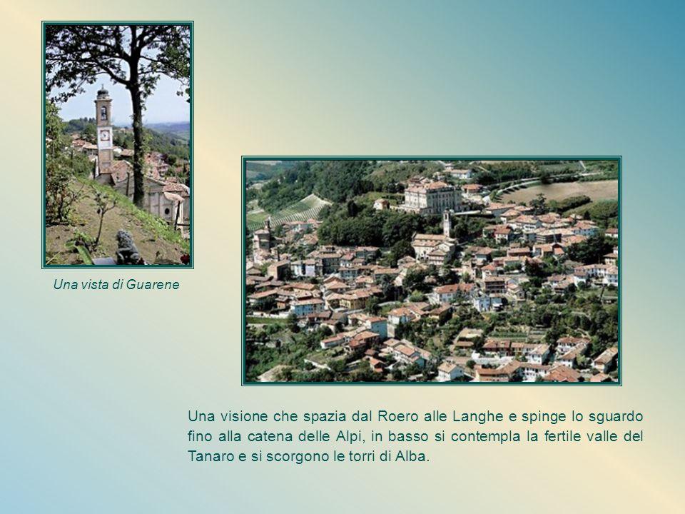 Una vista di Guarene