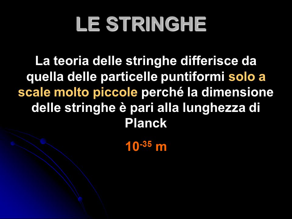 LE STRINGHE