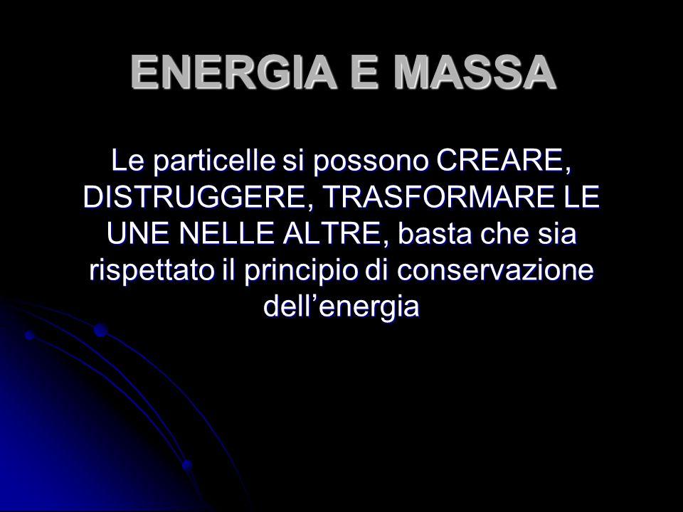 ENERGIA E MASSA