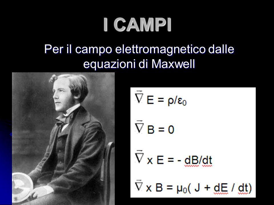 Per il campo elettromagnetico dalle equazioni di Maxwell