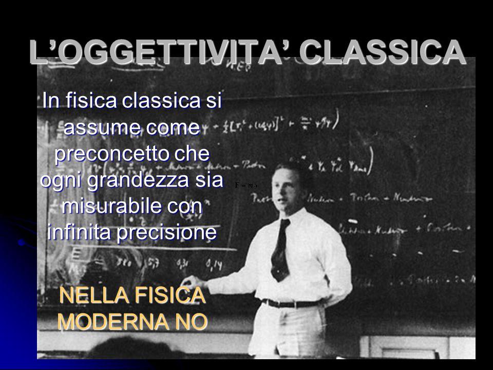 L'OGGETTIVITA' CLASSICA