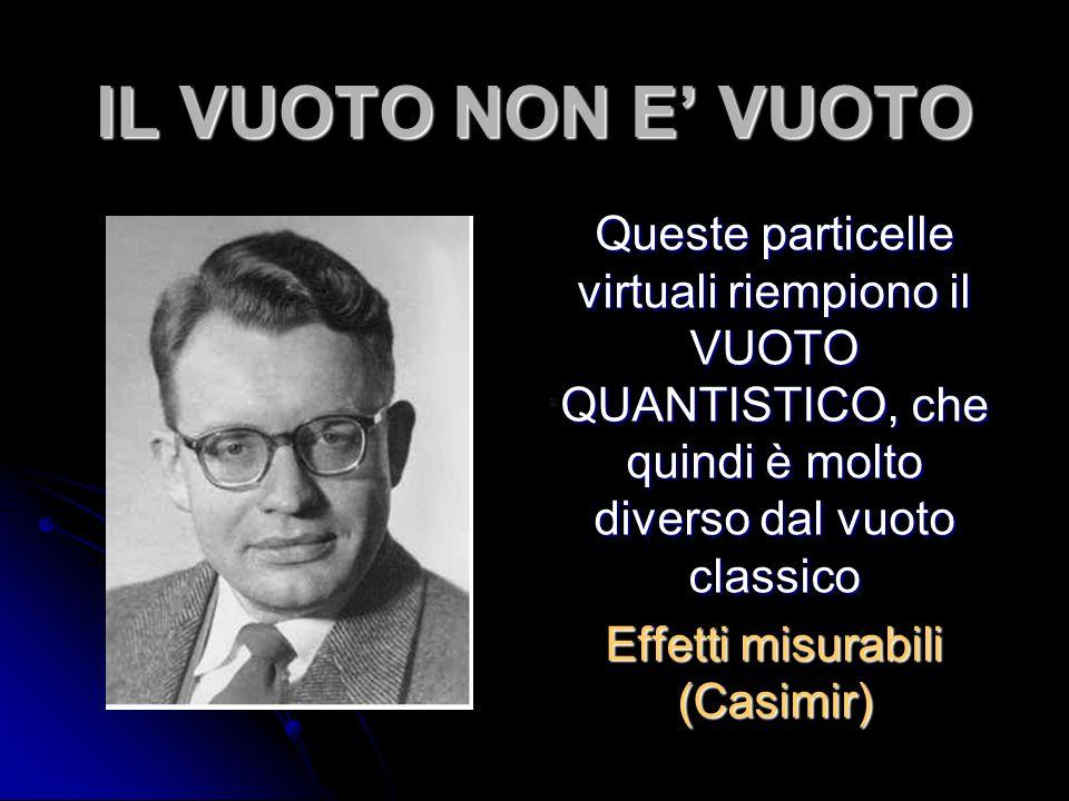 Effetti misurabili (Casimir)