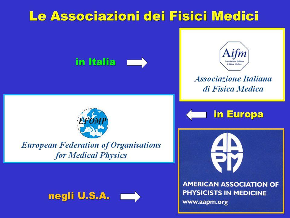 Le Associazioni dei Fisici Medici
