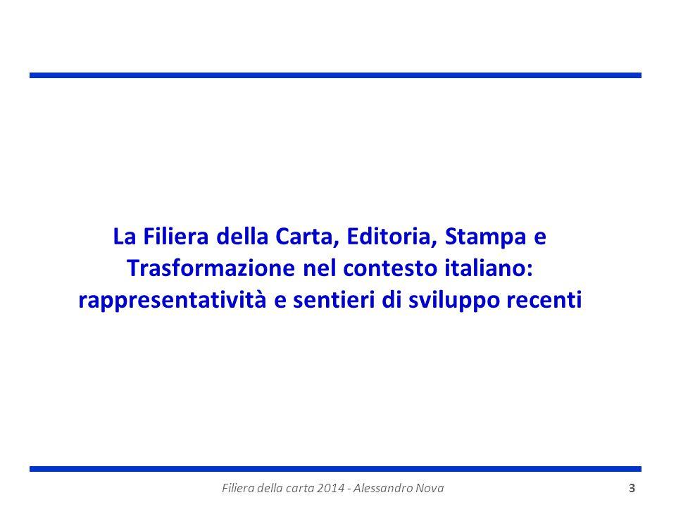 Filiera della carta 2014 - Alessandro Nova