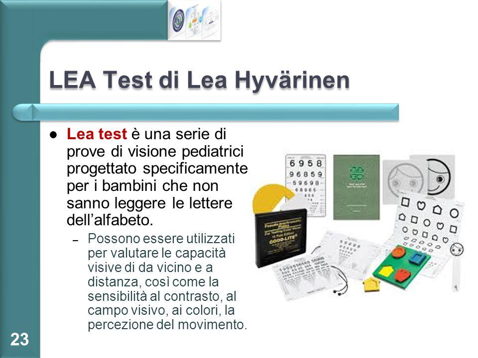 LEA Test di Lea Hyvärinen