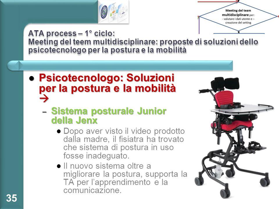 Psicotecnologo: Soluzioni per la postura e la mobilità 