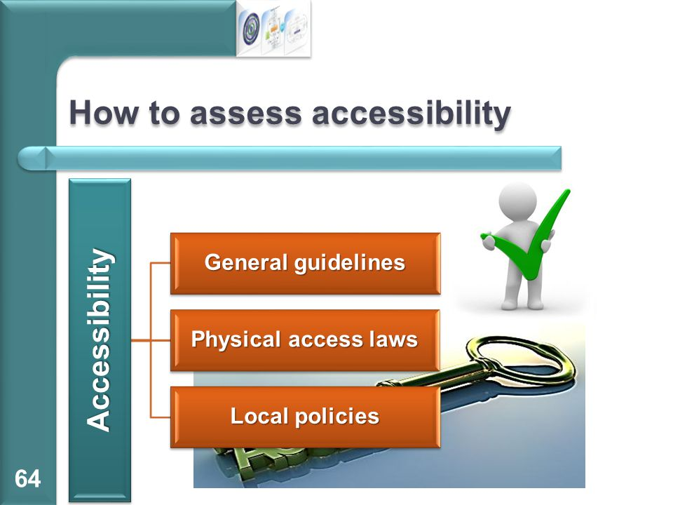 How to assess accessibility