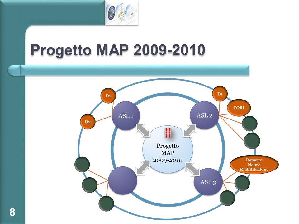 Progetto MAP 2009-2010 Numero di persone intervistate