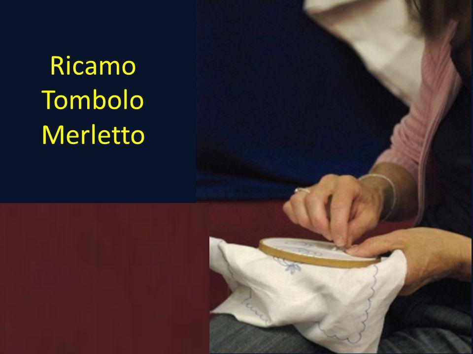 Ricamo Tombolo Merletto