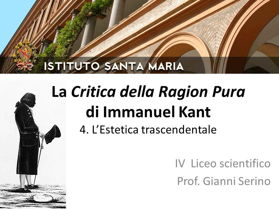 IV Liceo scientifico Prof. Gianni Serino