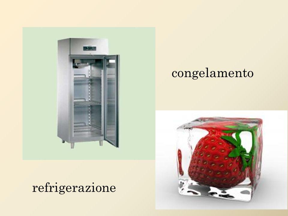congelamento refrigerazione
