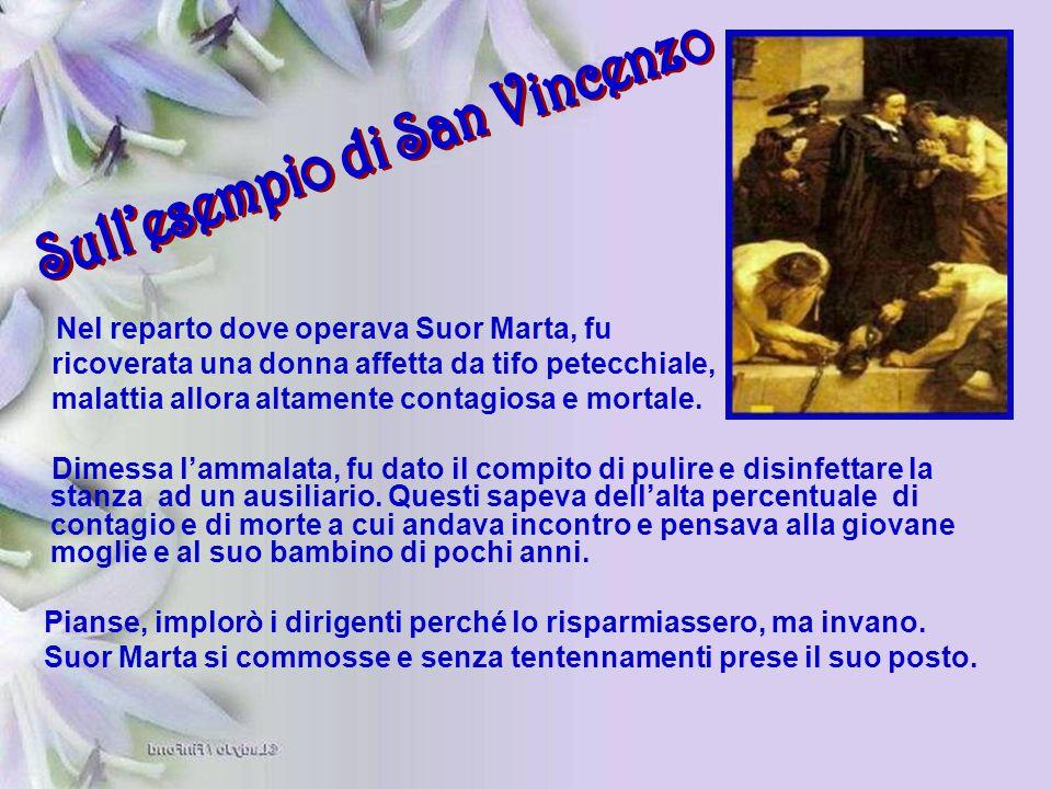 Sull'esempio di San Vincenzo