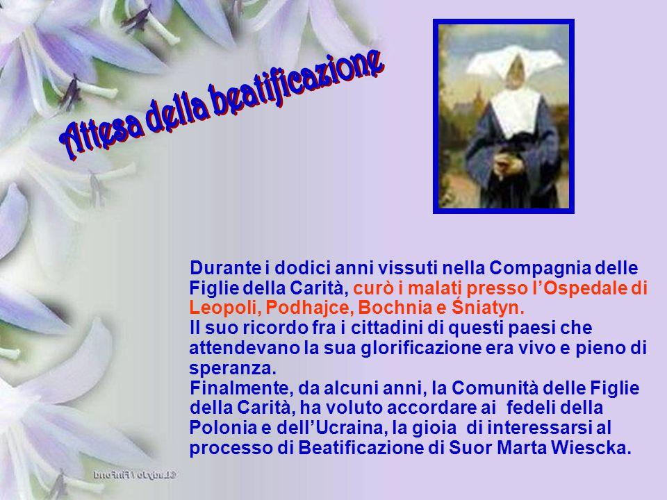 Attesa della beatificazione