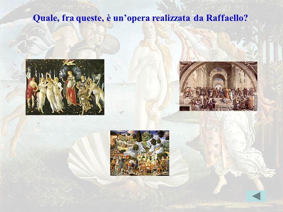 raffaelloerr Quale, fra queste, è un'opera realizzata da Raffaello