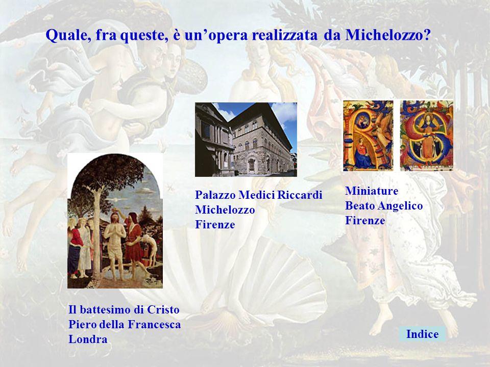 Michelozzogiusto Quale, fra queste, è un'opera realizzata da Michelozzo Miniature. Beato Angelico.