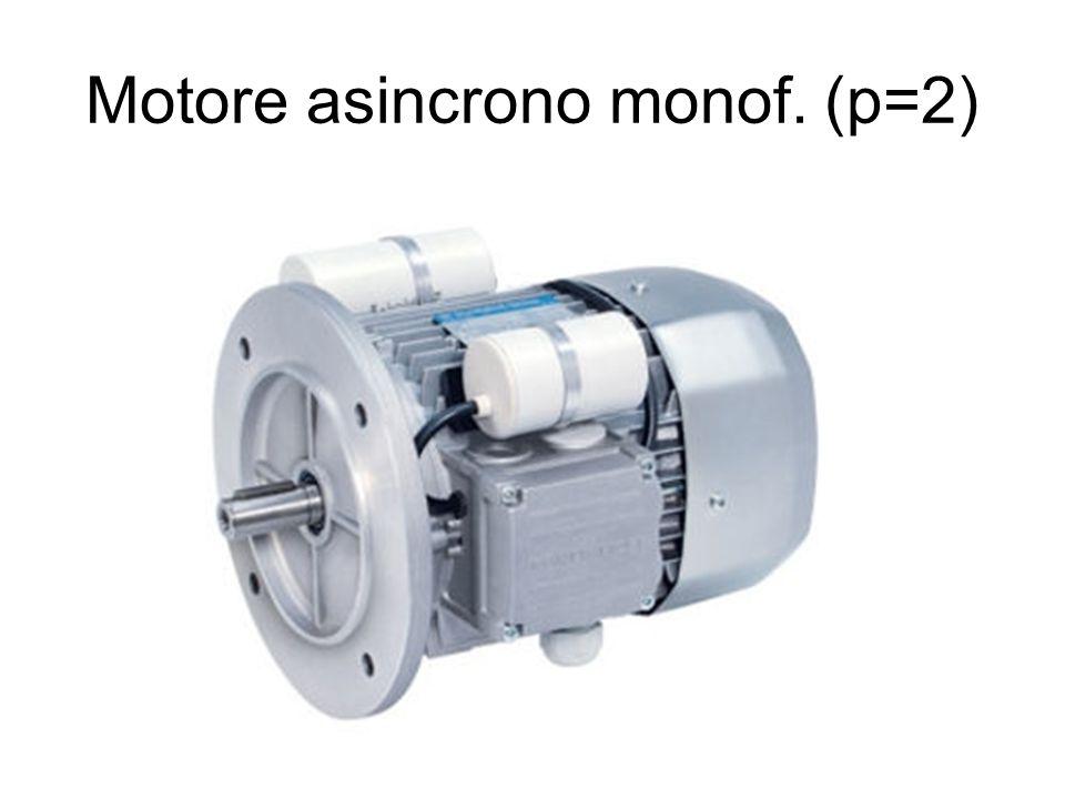 Motore asincrono monof. (p=2)