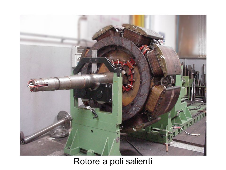 Rotore a poli salienti