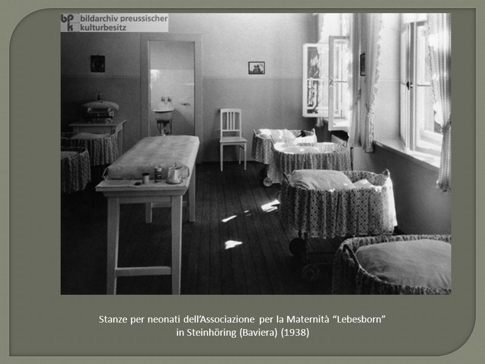 Stanze per neonati dell'Associazione per la Maternità Lebesborn