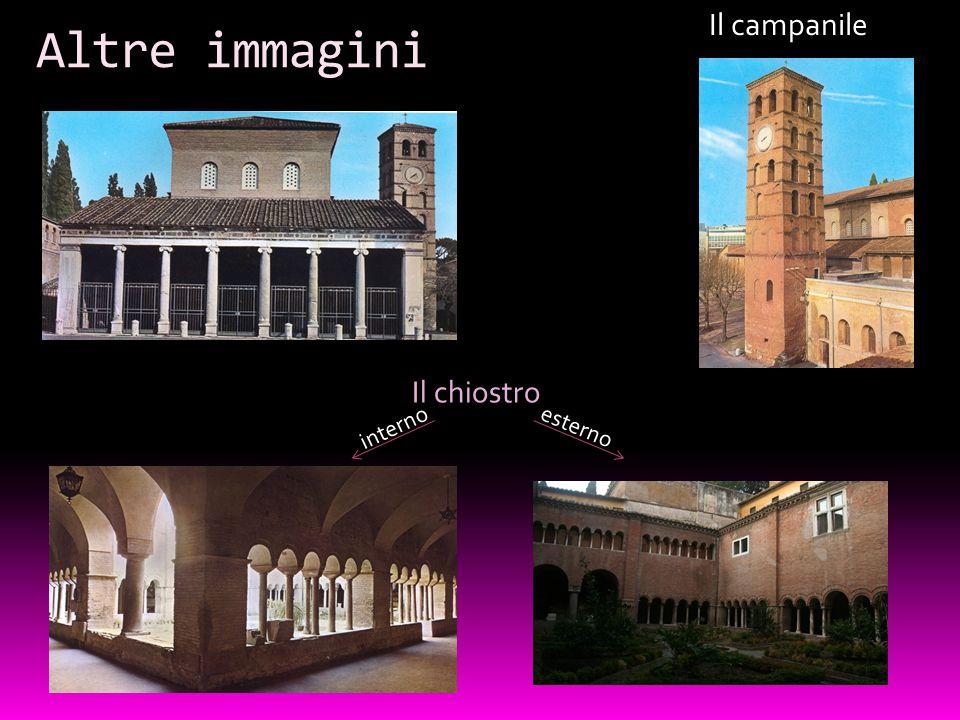 Il campanile Altre immagini Il chiostro interno esterno
