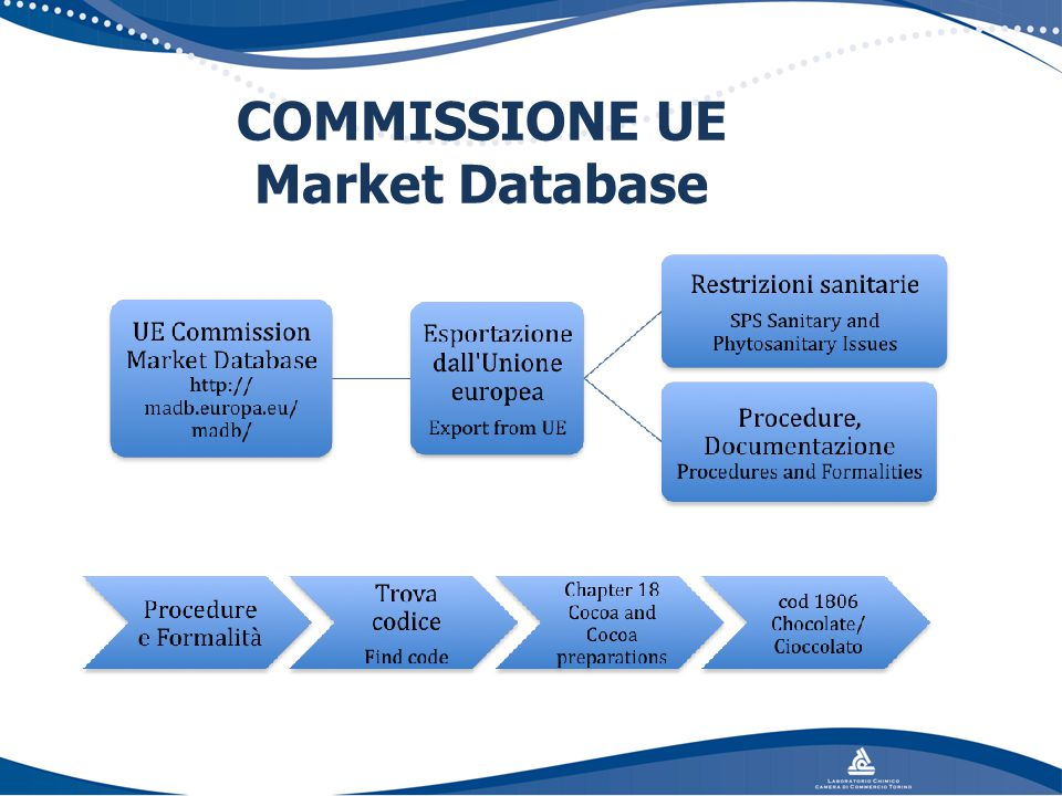 COMMISSIONE UE Market Database